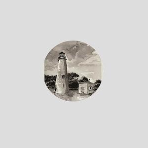 Ocracoke Island Lighthouse Mini Button