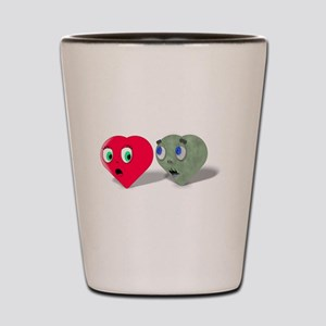 Zombie Love Shot Glass