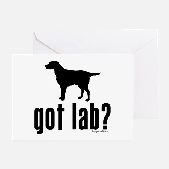 got lab? Greeting Cards (Pk of 20)
