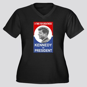 ART JFK 1960 Plus Size T-Shirt