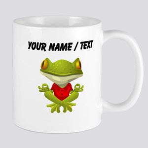Custom Yoga Frog Mugs
