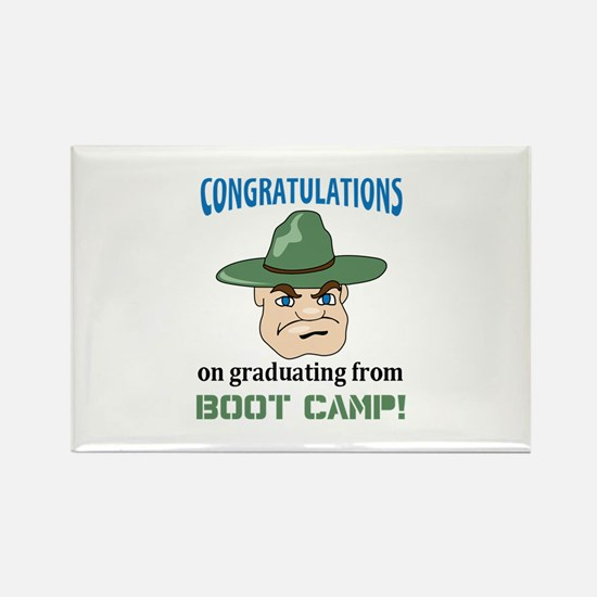 BOOT CAMP GRADUATE Magnets