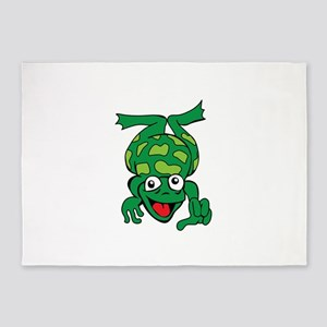 JUMPING FROG 5'x7'Area Rug