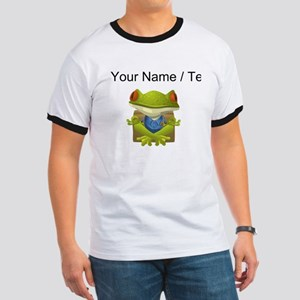 Custom Yoga Frog T-Shirt