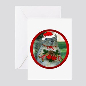 Christmas Squirrel Greeting Cards (Pk of 20)