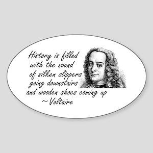 Sound of History Sticker (Oval)