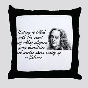 Sound of History Throw Pillow