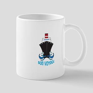 BON VOYAGE Mugs