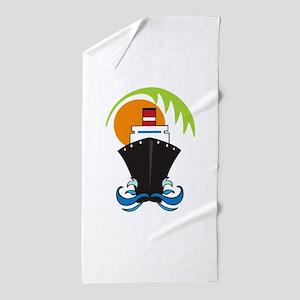 CARIBBEAN CRUISE Beach Towel