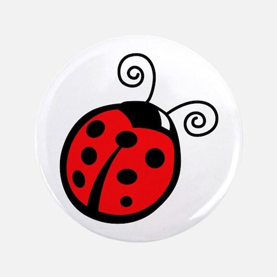 """LADYBUG APPLIQUE 3.5"""" Button (100 pack)"""