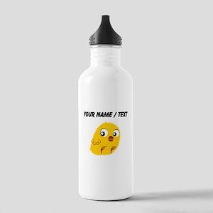 Custom Yellow Chick Water Bottle