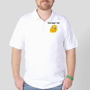 Custom Yellow Chick Golf Shirt