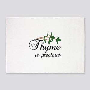 Thyme is precious 5'x7'Area Rug