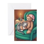 Miss B and Teddy Greeting Cards (Pk of 20)