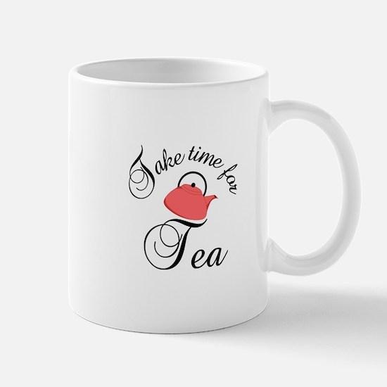 take time for tea Mugs