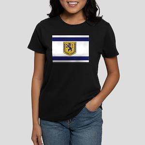 Jerusalem Municipal Flag Women's Dark T-Shirt