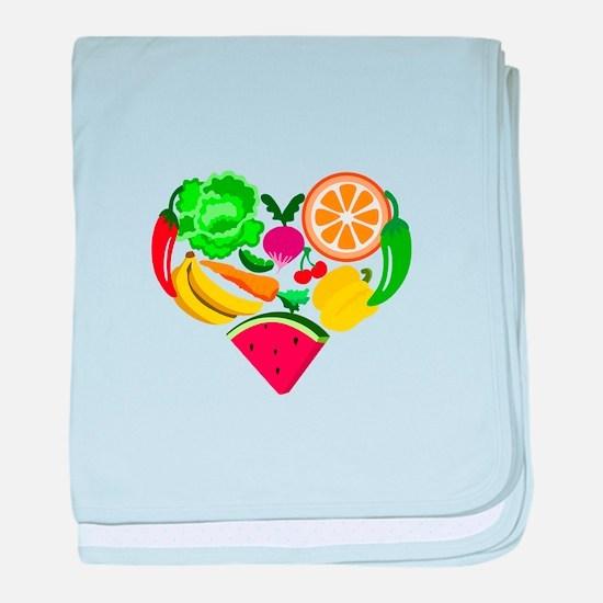heart healthy foods baby blanket