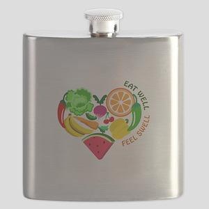 eat well feel swell Flask