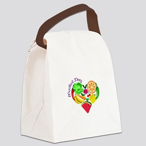 market day Canvas Lunch Bag