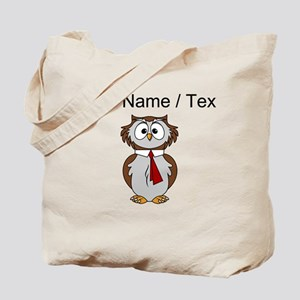 Custom Cartoon Owl Tote Bag