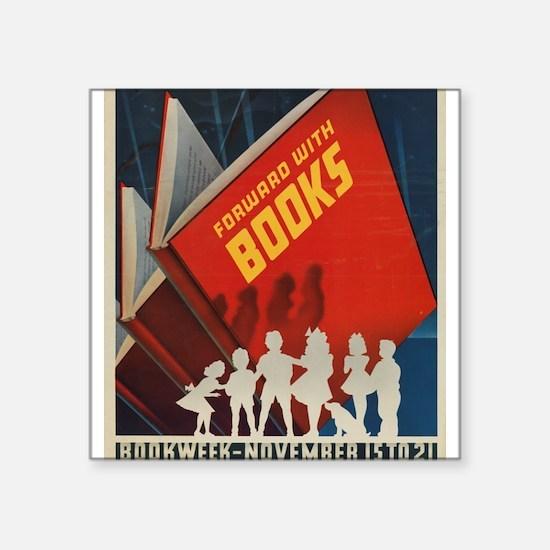 1942 Children's Book Week Sticker
