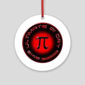 Ultimate Pi Day 2015 3.14.15 9:26 Ornament (Round)