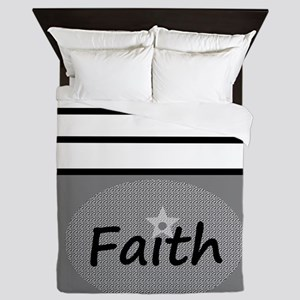 Faith Queen Duvet