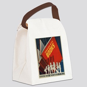 1942 Children's Book Week Canvas Lunch Bag