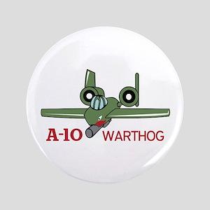 """A TEN WARTHOG 3.5"""" Button"""