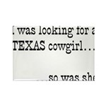 Texas Cowgirl Magnets