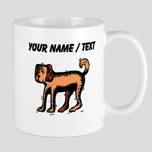 Custom Brown Dog Mugs