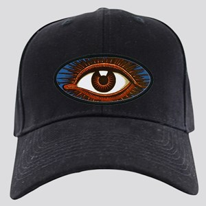 Eye Eyeball Black Cap