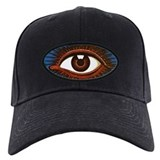 Eyeball Baseball Cap with Patch