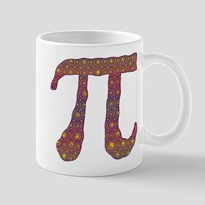 Psy Pi - Psychedelic Pi Mugs