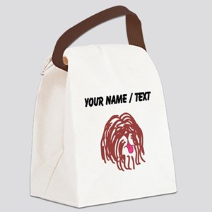 Custom Havanese Canvas Lunch Bag