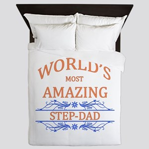 Step-dad Queen Duvet