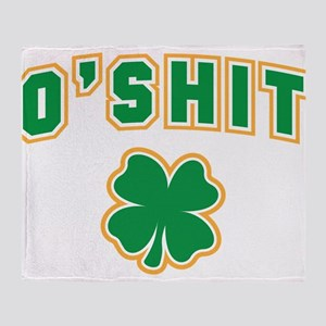 OShit Throw Blanket