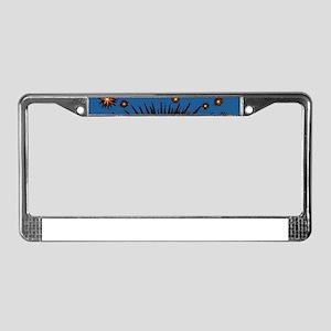 Eye Eyeball License Plate Frame