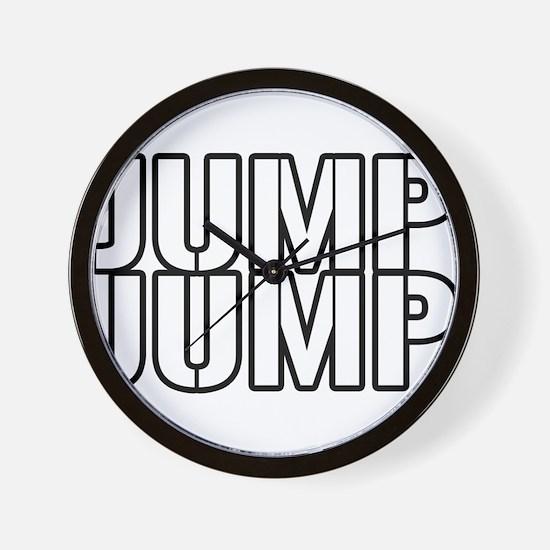 Jump Jump Wall Clock