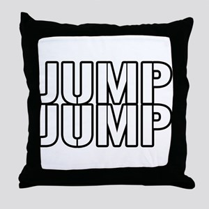 Jump Jump Throw Pillow