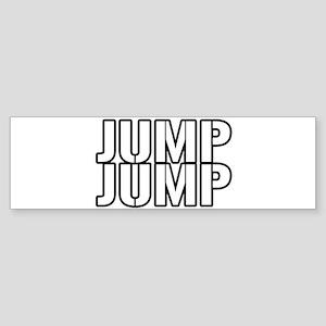Jump Jump Bumper Sticker