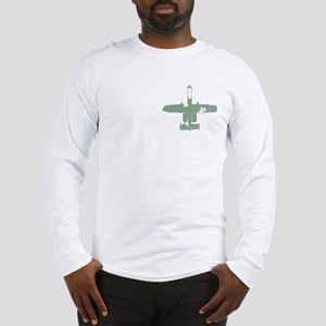 Hog -green Long Sleeve T-Shirt