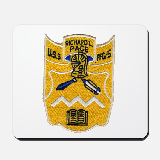 USS RICHARD L. PAGE Mousepad