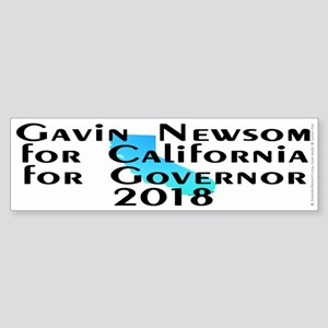 Gavin Newsom, Governor - Sticker (Bumper)