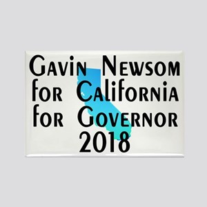Gavin Newsom, Governor - Rectangle Magnet