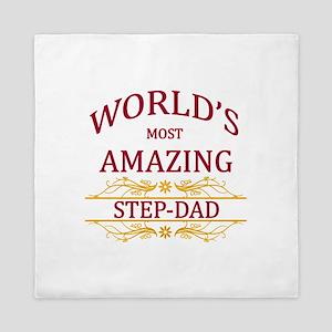 Step-Dad Queen Duvet