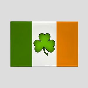 Irish Flag Shamrock Magnets