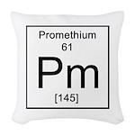61. Promethium Woven Throw Pillow