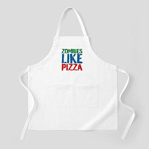 Zombies Like Pizza Apron