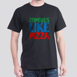 Zombies Like Pizza T-Shirt